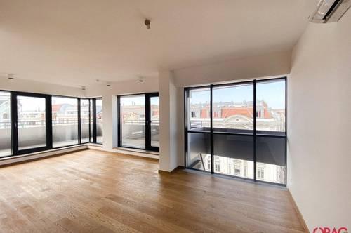 Exklusive Penthousewohnung mit großer Dachterrasse - in 1070 Wien zu mieten