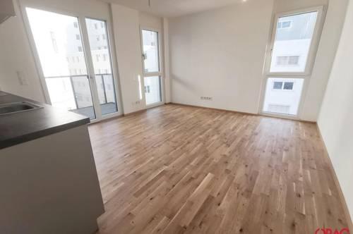 Wohnen beim Storchengrund: Großartige 2-Zimmer Wohnung mit Balkon in 1150 Wien zu mieten