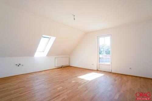 Am Land zu Hause – gemütliche 3-Zimmer-Dachgeschoß-Wohnung - zu kaufen in 2483 Weigelsdorf