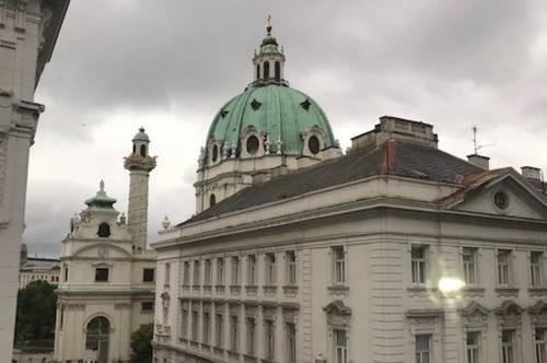 Wohnen oder Arbeiten beim Karlsplatz