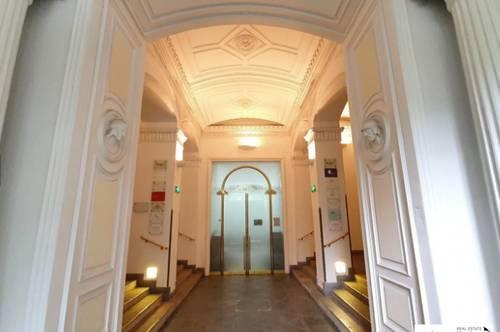 Herrschaftliches Stadtbüro in einem repräsentativen Althaus