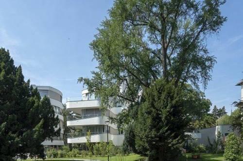 Exklusives Wohnen in bester Cottagelage - ein parkähnlicher Garten lädt zum Verweilen ein!