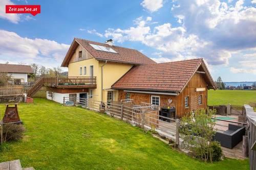 Atterseeblick Einfamilienhaus in Traumlage