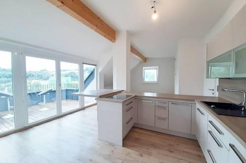 Bezaubernde 4 Zimmer Dachgeschoss Wohnung in Thalgau jetzt mieten!