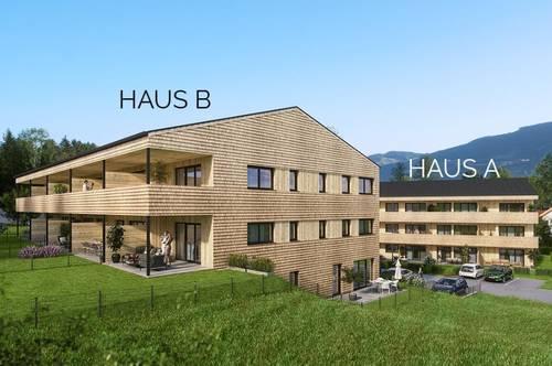 Mondsee: Neubau - 2-Zimmer-Wohnung mit Balkon - See in Gehweite