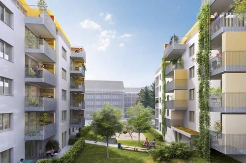Geförderte 3-Zimmerwohnung mit Balkon! Neubau!