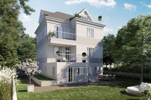 Bauhausvilla in absoluter Ruhelage/Fertigstellung Sommer 2021