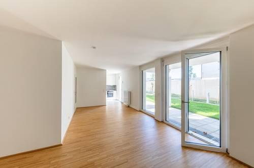 FAMILIENTRAUM - ERSTBEZUG INKLUSIVE KÜCHE: 4-Zimmer-Maisonette mit LOGGIA und GARTEN in U-Bahn-Nähe - PROVISIONSFREI direkt vom Bauträger!