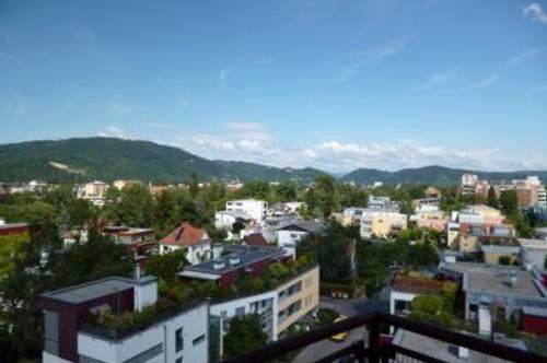 Geidorf! Schöne 2-Zimmerwohnung mit großer Loggia und Terrasse!