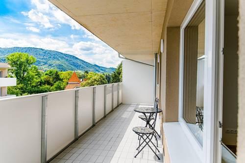 Exklusiver Erstbezug! Ruhige 3-Zimmerwohnung mit sonniger Terasse und Tiefgaragenplatz!
