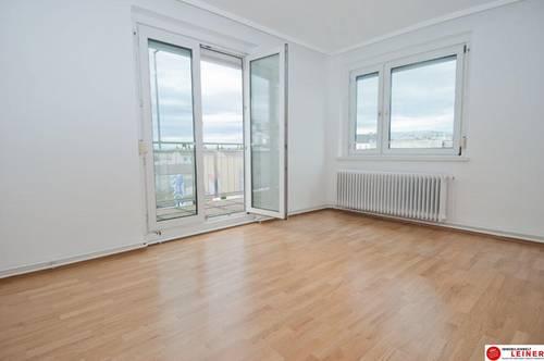 2320 Schwechat: Dachgeschosswohnung - 3 Zimmer Mietwohnung 74m² mit klasse Terrasse und Stellplatz!