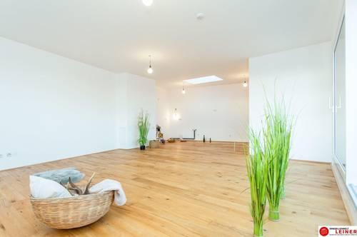 *UNBEFRISTET* Schwechat - 3 Zimmer Mietwohnung mit 75 m² großem Garten und 21 m² großer Terrasse