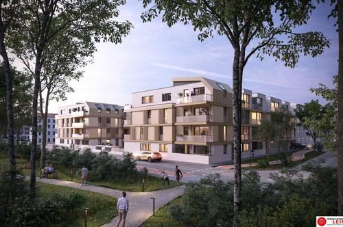 Provisionsfreie Mietwohnung in Schwechat   2 Zimmer   Neubau mit Loggia