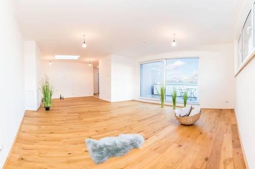 Modern & zentral mit Blick auf den Felmayergarten - Provisionsfreie Mietwohnung - Terrasse - 2 Zimmer - Erstbezug