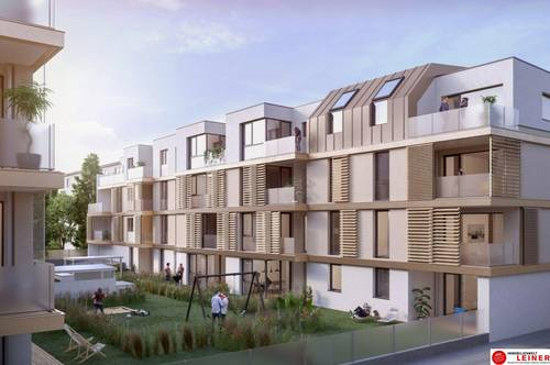 Urban und doch im Grünen | Mietwohnung in Schwechat | 2 Zimmer | Neubau mit Loggia