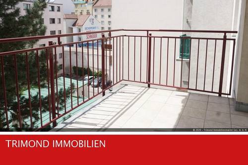 Sonnige, helle 2-Zimmerwohnung mit hofseitigen Balkon - Nähe Favoritenstraße / Gellertplatz!