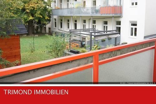 Hofseitige, ruhige 2-Zimmerwohnung mit Loggia - nähe U4 Meidlinger Hauptstraße gelegen.