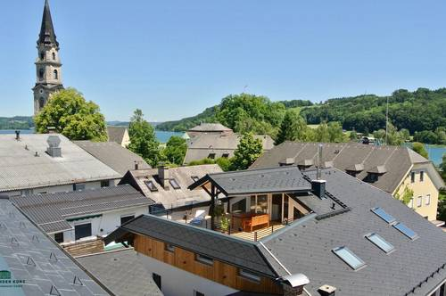 Exklusive Dachgeschoss- Terrassen- Loftwohnung im Zentrum von Mattsee
