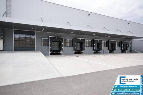 Neuwertige - ca. 2.200m² große Betriebshalle
