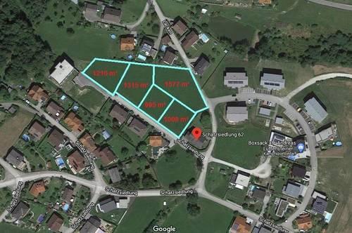 5 Grundstücke für privaten Hausbau oder kleine Projekte bis zu 4 Wohneinheiten 15 Kilometer von Linz
