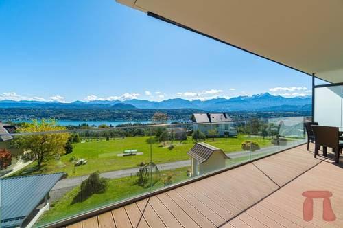 Moderne Seeblick Wohnung mit beeindruckendem Panorama