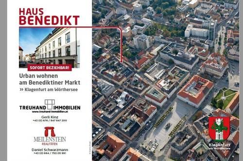 URBANES WOHNEN am Benediktinermarkt - TOP 2 Virtuelle Besichtigung verfügbar