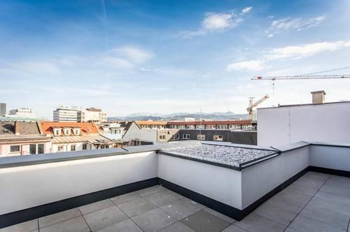 WOHNEN am Benediktinermarkt Maisonette Dachgeschoss - TOP 9