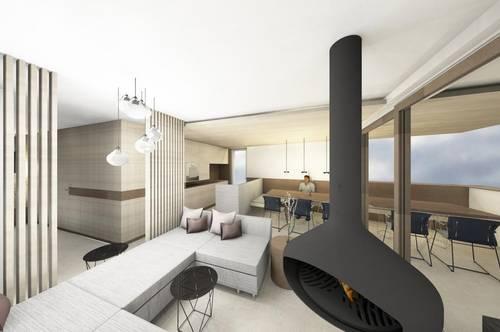 Luxuriöse Penthousewohnung im Stadtzentrum