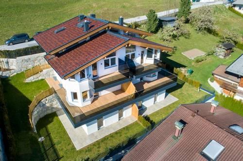 Panorama Doppelhaushälfte in Hanglage