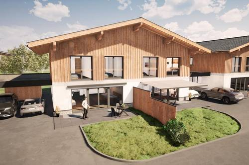 Neubau Doppelhaushälfte mit Panoramablick