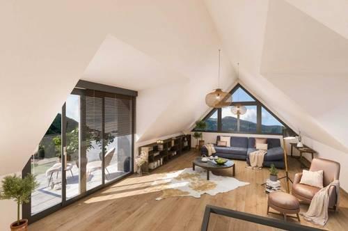 Neubau Penthouse Maisonette Wohnung mit Galerie