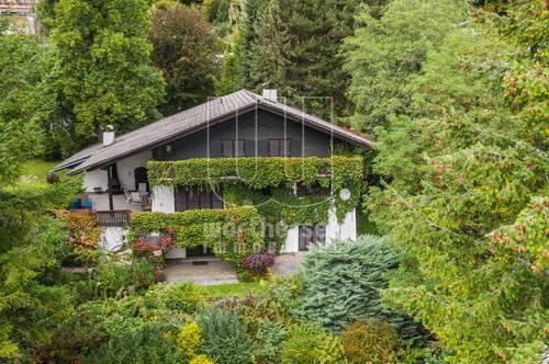 Velden Ortsteil Kranzlhofen, Landhausvilla mit wunderbarer Fernsicht