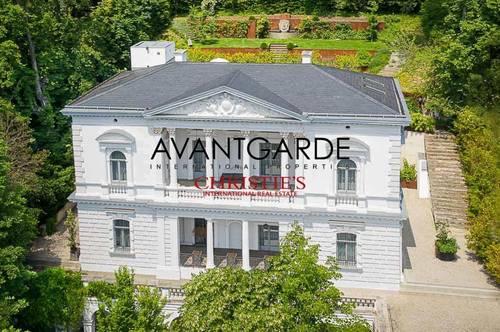 Elegante historische Villa in Ruhelage