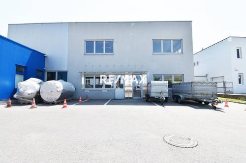 LAGER + BÜROS AUF 1.200 m²