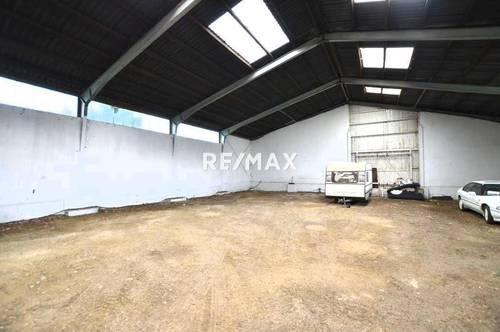 Lagerhalle bis 400 m² Fläche