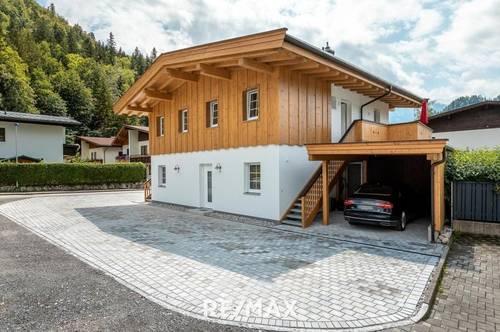 Walchsee - helle 4-Zimmer-Neubauwohnung mit Gartenanteil!