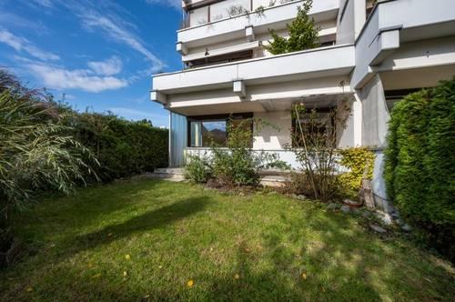 Großzügige 2-Zimmer Gartenwohnung mit Terrasse
