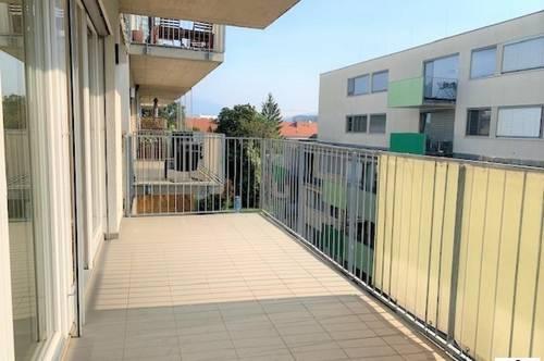 Exculsive 2-Zimmer Wohnung - EGGENBERG - TG-Platz und Terrasse!