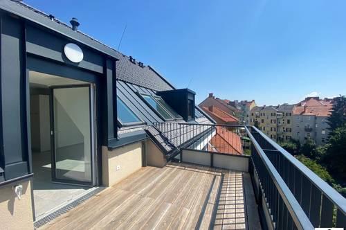 Wunderschöne Penthouse-Wohnung //Neueprojekt - Erstbezug - Terrasse - mit Tiefgaragenplatz!