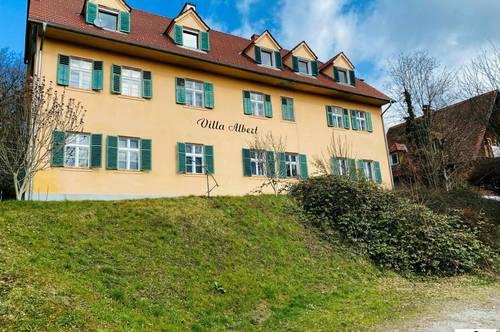 Wohnen in der Villa Albert - 2 Zimmerwohnung am Rande von Graz - inkl. Parkplatz!