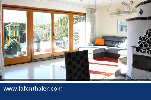 HAUS-Wohnung mit AUSSICHT ---- in herrlicher, sonniger und unverbaubarer Ortslage von Bad Hofgastein. Ein ganz besonderes Angebot.