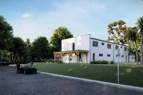 Doppelhaus-ansprechend und stilvoll