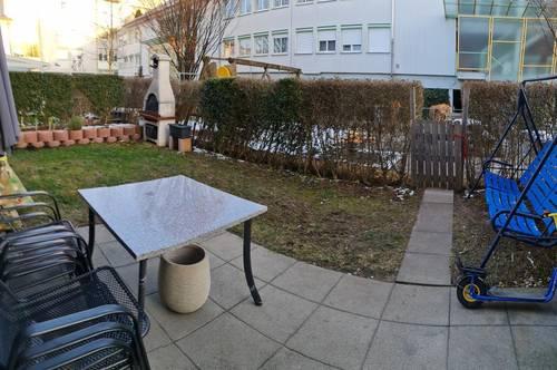 Schöne Gartenwohnung mit Tiefgarage