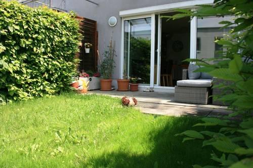 Bezaubernde Terrassenwohnung mit Grünfläche