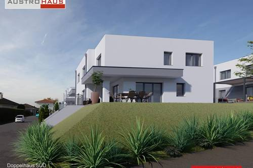 Ihre moderne Doppelhaushälfte Süd in Katsdorf ab € 434.077,-