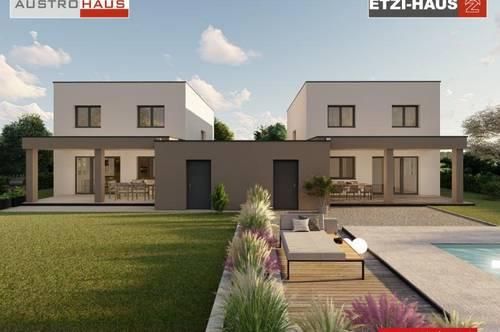 453 m² Grund + Doppelhaus + Garage in Pucking ab € 394.195,-