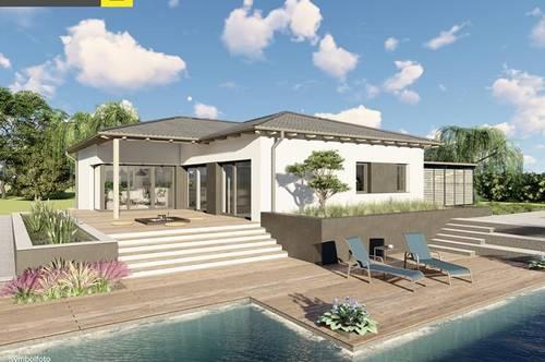 Moderner Bungalow mit Grundstück in Micheldorf ab € 375.000