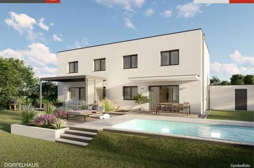 Ebergassing: Doppelhaushälfte + Grund ab € 311.800,-