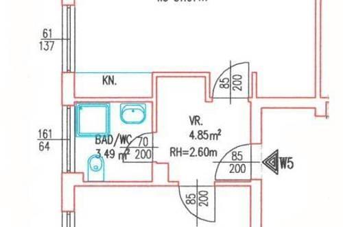 2-Zimmer-Wohnung mit optimaler Anbindung