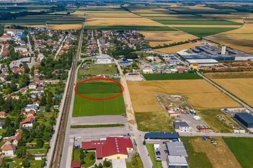 Betriebsbaugrundstück 3.000 m² langfristig zu mieten - Aufschließungsabgabe bereits entrichtet!